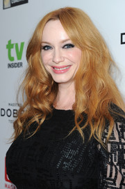 Christina Hendricks attended the Television Industry Advocacy Awards wearing glamorous tousled waves.