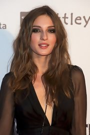 Maria Valverde let her hair loose in soft waves for the premiere of 'Tengo Ganas de Ti.'