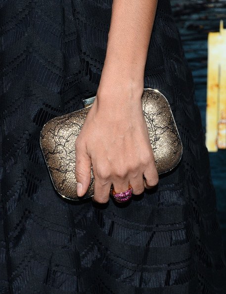 Thandie Newton Hard Case Clutch