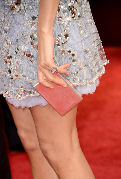 Thandie Newton Metallic Clutch