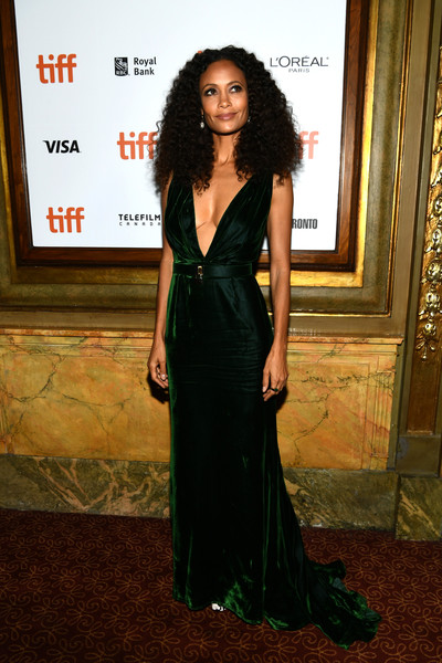 Thandie Newton Fishtail Dress