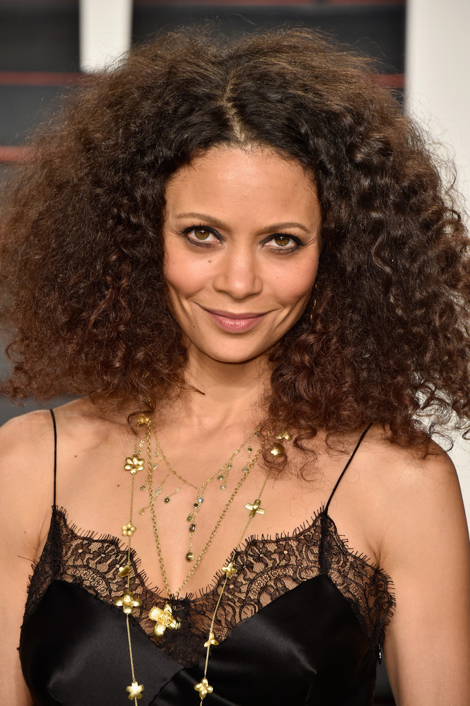 Thandie Newton Medium Curls Thandie Newton Hair Looks