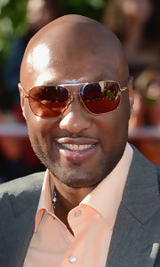 Lamar Odom got some sun protection with the help of his rectangular sunnies during the 2012 Espy Awards.