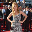 Connie Britton in Herve Leger