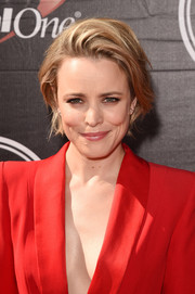 Rachel McAdams opted for an edgy-chic teased bob when she attended the ESPYs.