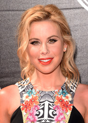 Tara Lipinski looked lovely at the ESPYs wearing this loose wavy ponytail.