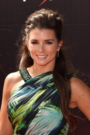 Danica Patrick looked sweet and pretty at the ESPYs wearing her flowing locks in a half-up style.