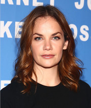 Ruth Wilson looked cute with her spiral waves at the New York screening of 'The Affair.'