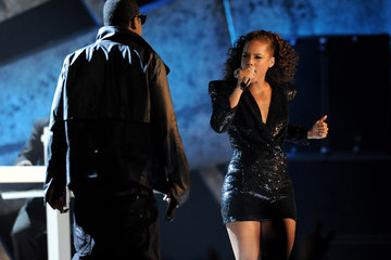 Alicia Keys Jay-Z The Brit Awards - Show