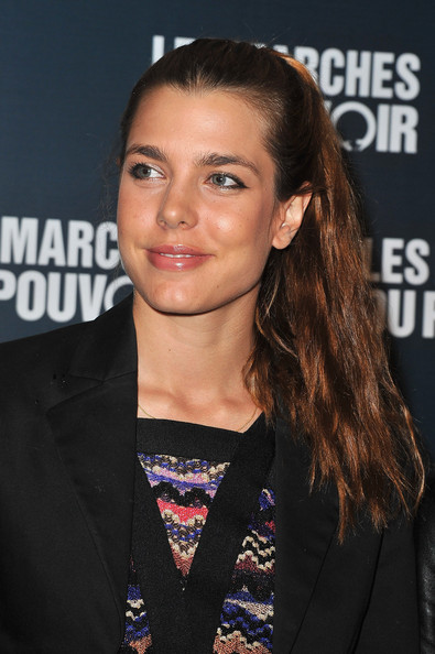More Pics of Charlotte Casiraghi Ponytail (1 of 4) - Charlotte Casiraghi Lookbook - StyleBistro