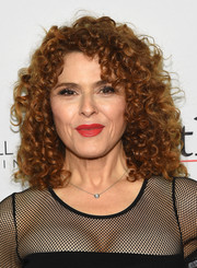 Bernadette Peters made an appearance at the world premiere of 'The Good Fight' wearing her iconic curls.