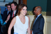 Princess Eugenie Peep Toe Pumps