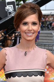 Cheryl Fernandez-Versini went retro with this elegantly done beehive for the 'X Factor' London auditions.