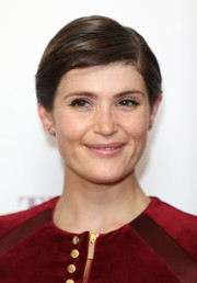 Gemma Arterton looked oh-so-sweet with her neat side-parted hairstyle at the special screening of 'Their Finest.'
