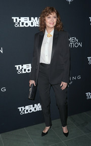 Susan Sarandon attended the 'Thelma & Louise' Women in Motion screening wearing her signature pantsuit.