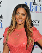 La La Anthony attended the 'Think Like a Man' screening wearing her ultra-long tresses in gorgeous golden waves.