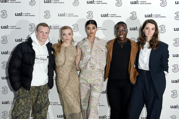 More Pics of Neelam Gill Strappy Sandals (1 of 4) - Neelam Gill Lookbook - StyleBistro [event,premiere,suit,tanya reynolds,ncuti gatawa,natalie dormer,neelam gill,5g,fashion,l-r,party,lfw,central saint martins ma show]