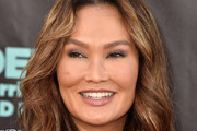 Tia Carrere Long Wavy Cut