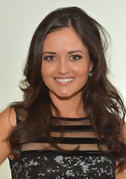 Danica McKellar kept her beauty look radiant and youthful with a barely-there nude lip.