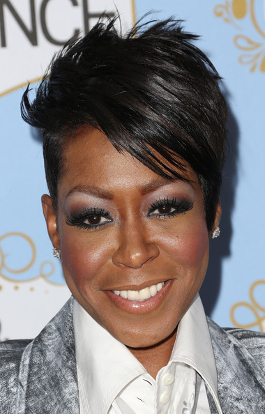 Tichina Arnold Spiked Hair [tichina arnold,essence black women in hollywood awards luncheon,hair,face,hairstyle,eyebrow,forehead,black hair,chin,eye,eyelash,smile,beverly hills hotel,california,sixth annual essence black women in hollywood awards luncheon]
