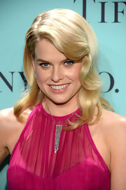 Alice Eve rocked retro-style waves at the Tiffany Blue Book Ball.