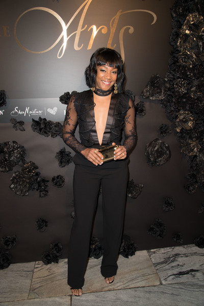 Tiffany Haddish Metallic Clutch