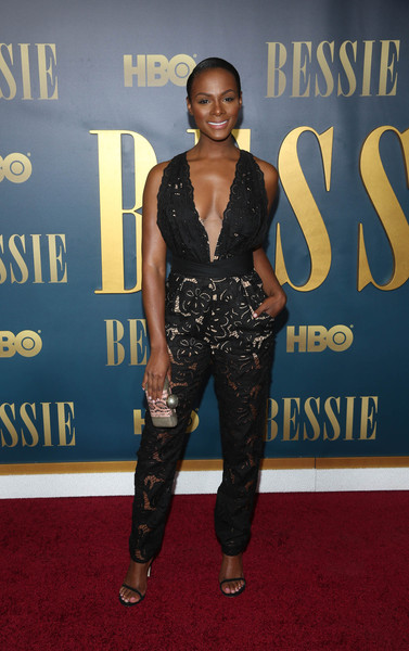 Tika Sumpter Box Clutch