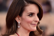 Tina Fey Long Wavy Cut