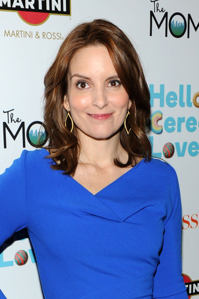 Tina Fey Medium Layered Cut
