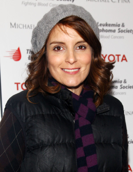 Tina Fey Crocheted Beret