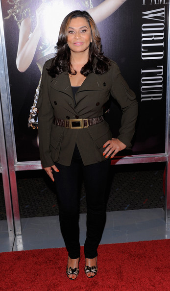 Tina Knowles Military Jacket