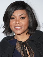 Taraji P. Henson showed off a perfectly sweet bob at the Toast to the Globes celebration.