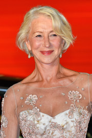 Helen Mirren attended the Tokyo International Film Festival opening ceremony wearing her hair in a classic bob.