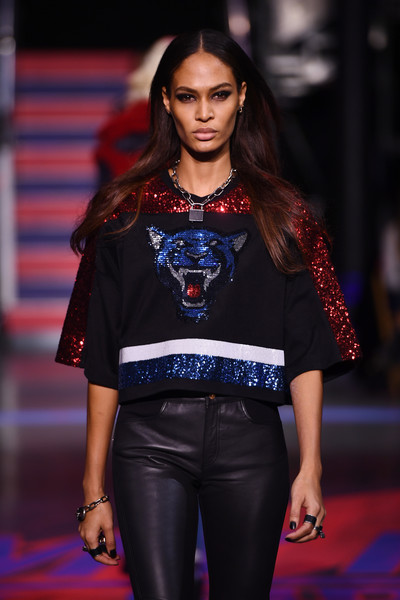 More Pics of Joan Smalls Studded Boots (1 of 3) - Boots Lookbook - StyleBistro