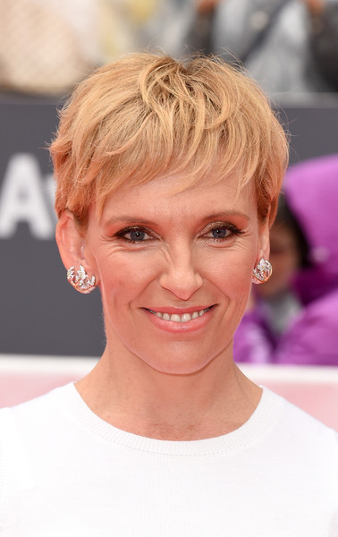 Toni Collette Pixie [miss you already,hair,face,hairstyle,blond,eyebrow,chin,skin,head,forehead,lip,toni collette,premiere - arrivals,roy thomson hall,toronto,canada,toronto international film festival,premiere]
