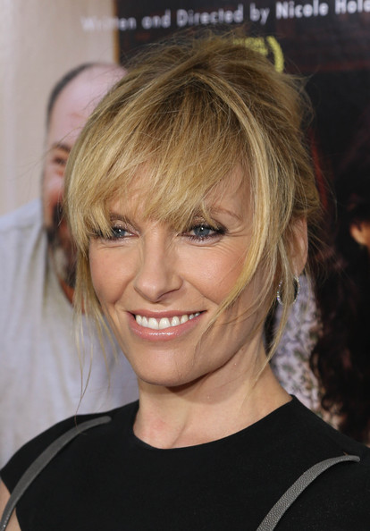 Toni Collette Messy Updo