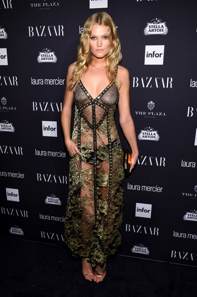 Toni Garrn Sheer Dress