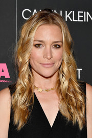 Piper Perabo styled her hair with spiral waves for the New York premiere of 'I, Tonya.'
