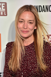 Piper Perabo sported a casual layered cut at the premiere of 'Top of the Lake: China Girl.'