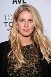 Nicky Hilton sported fabulous piecey waves at the Topman New York City flagship opening dinner.