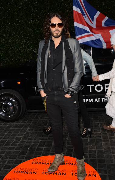 More Pics of Russell Brand Blazer (1 of 10) - Russell Brand Lookbook - StyleBistro