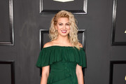 Tori Kelly Off-the-Shoulder Dress
