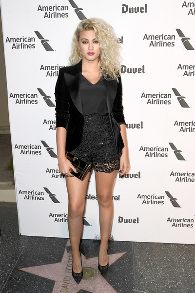 Tori Kelly High-Waisted Shorts