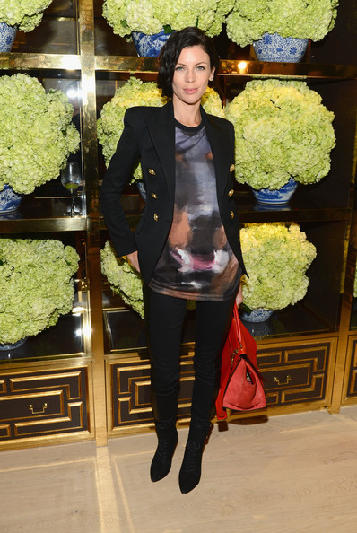 More Pics of Liberty Ross Bobby Pinned Updo (1 of 6) - Liberty Ross Lookbook - StyleBistro
