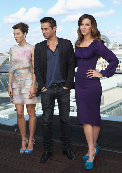 More Pics of Jessica Biel Peep Toe Pumps (1 of 13) - Peep Toe Pumps Lookbook - StyleBistro