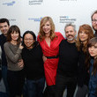 Allison Janney and Ron Livingston