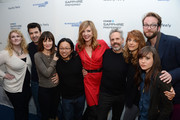 Allison Janney and Ron Livingston Photo