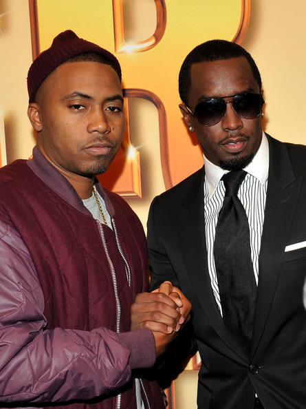 Sean Combs looked elegant at the 'Tower Heist' premiere in a black suit and a pair of aviators.