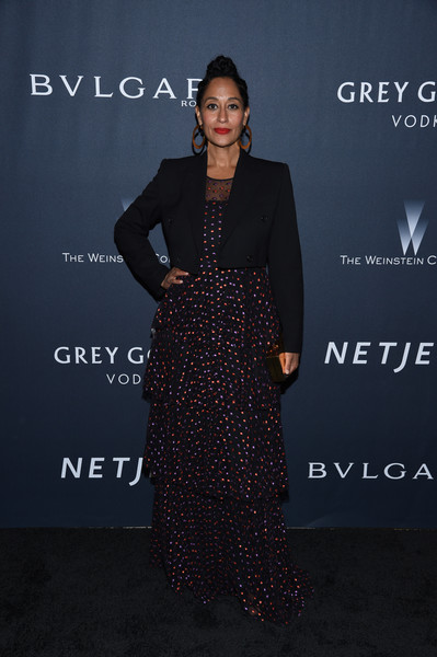 Tracee Ellis Ross Embroidered Dress