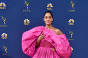 Tracee Ellis Ross Off-the-Shoulder Dress